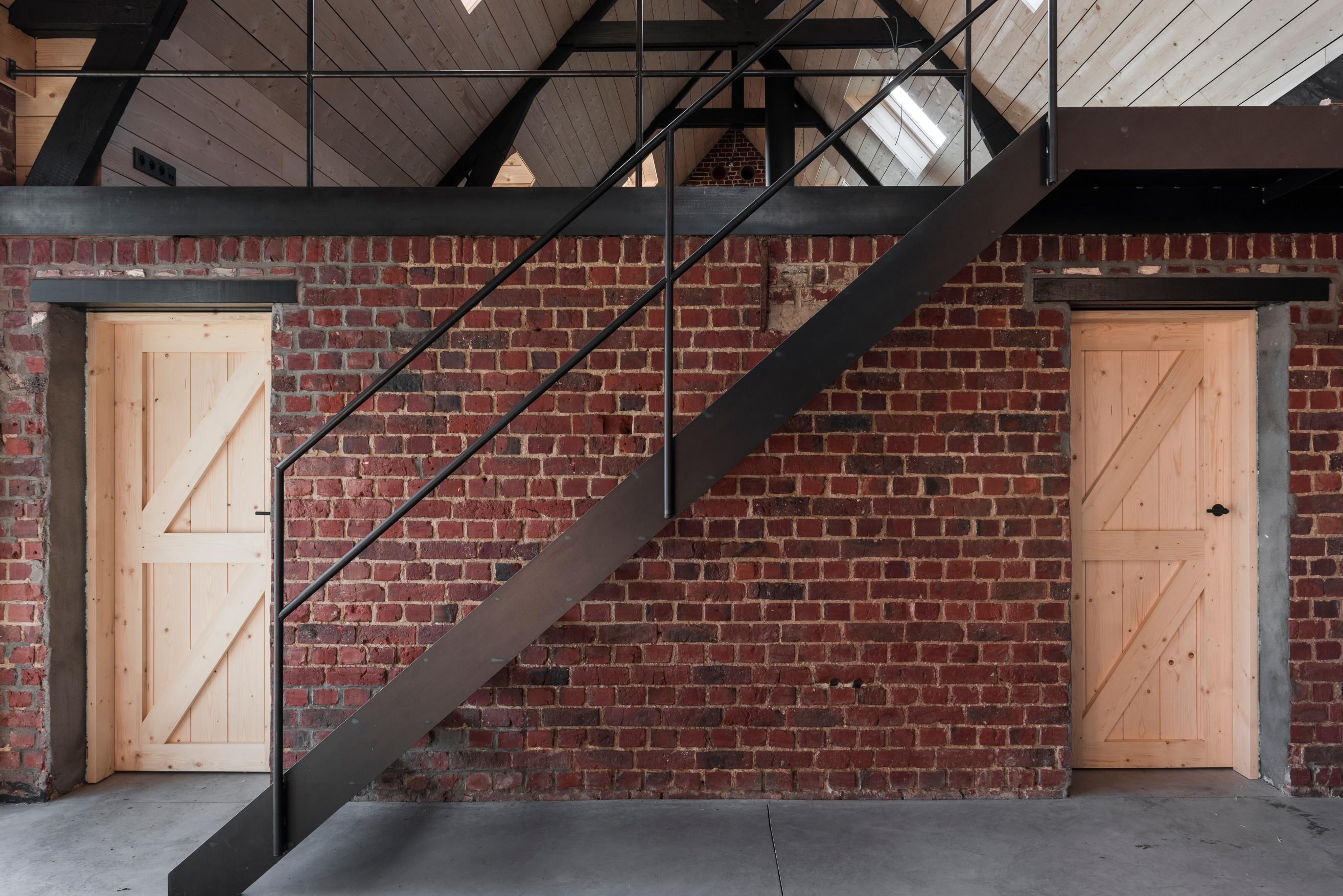 Plafonds en binnendeuren